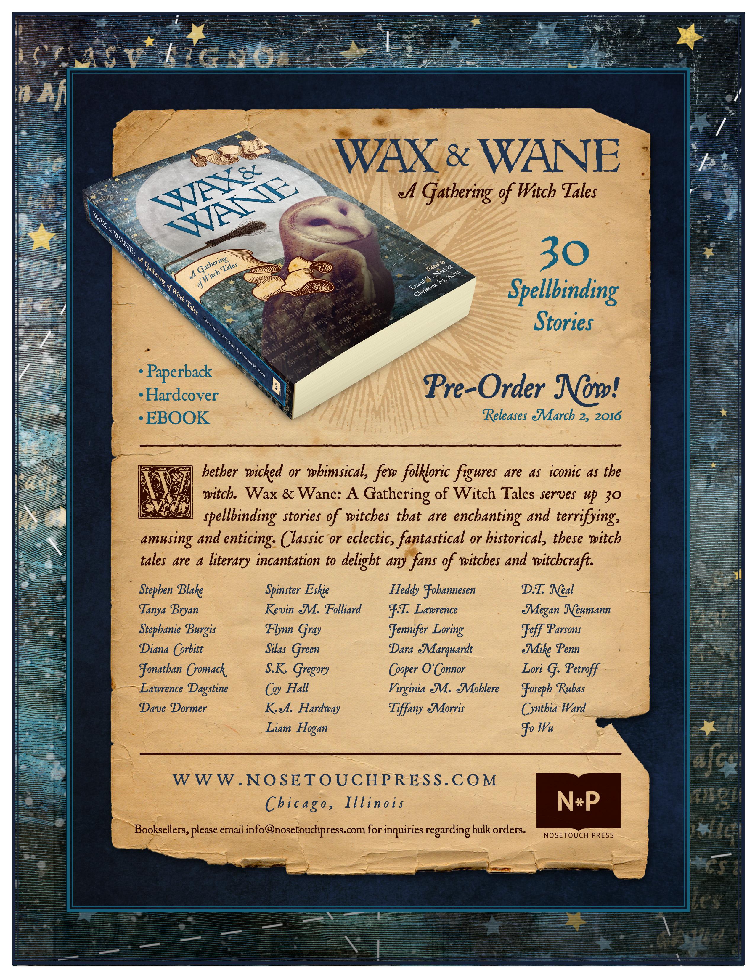 Wax & Wane Contributors