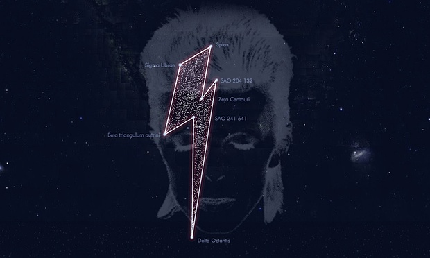 Bowie Gets a Bolt in the Sky