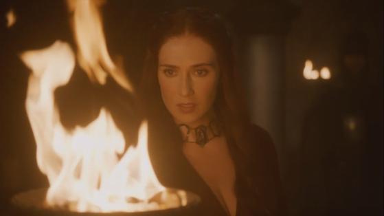 Melisandre, fire gazing