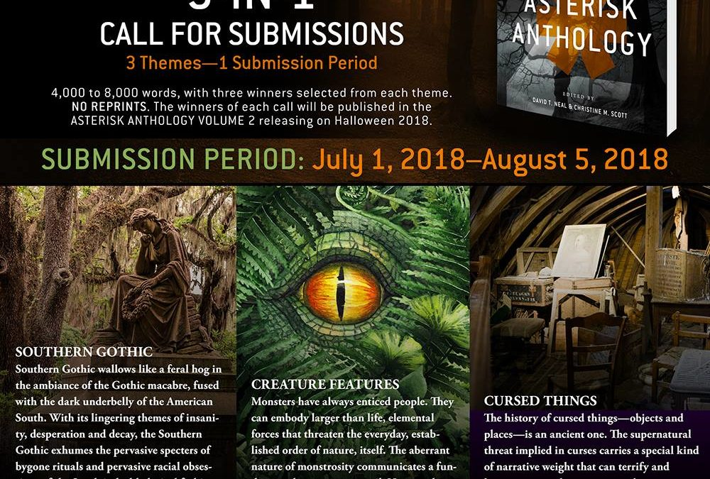 CALL FOR SUBMISSIONS: THE ASTERISK ANTHOLOGY, VOLUME 2
